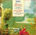 Wolfgang Amadeus Mozart : Concertos pour deux pianos K 242 et K 365