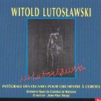 Intégrale des oeuvres pour orchestre à cordes