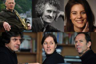 Steve Houben - Michel Herr © Jos Knaepen - Julie Mossay - Nathalie Loriers trio © Jacky Lepage