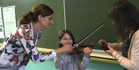 musiciens ORCW dans les écoles